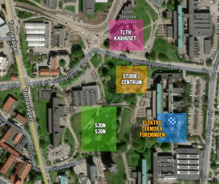 Karta över LTH/ETF med labels